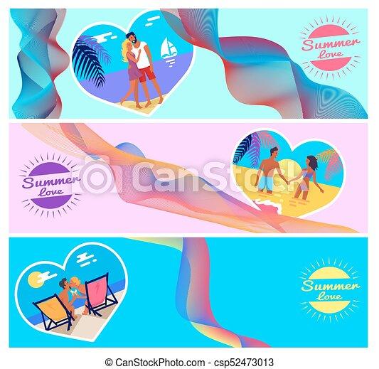 Amor verano, corazón, marco, parejas, fotos, forma. Aviadores ...