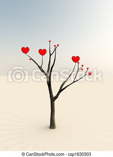 amore, albero - csp1630303