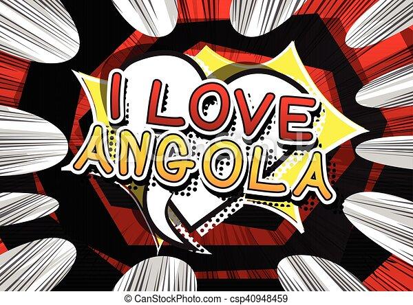 amore, angola - csp40948459