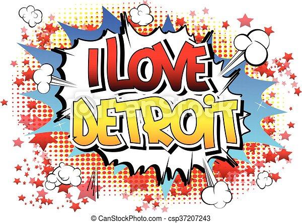 amore, detroit - csp37207243