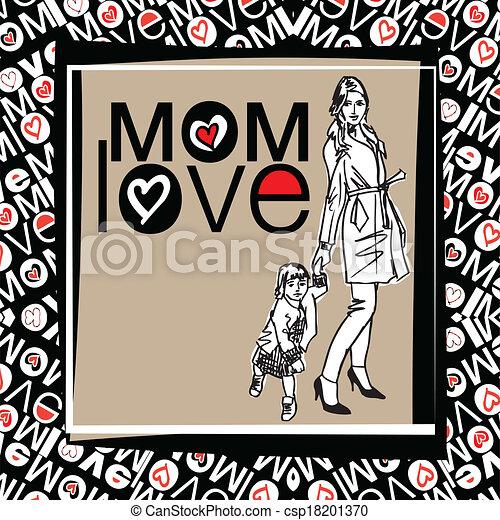 amore, mamma - csp18201370