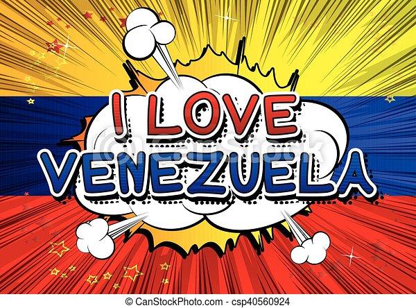amore, venezuela - csp40560924