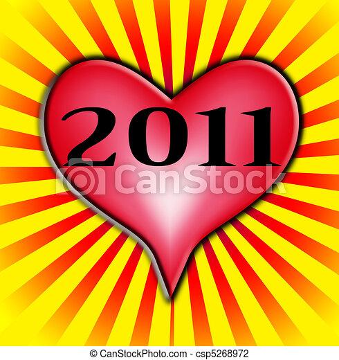 Amour 2011 joie image repr senter year nouveau clip - Clipart amour ...