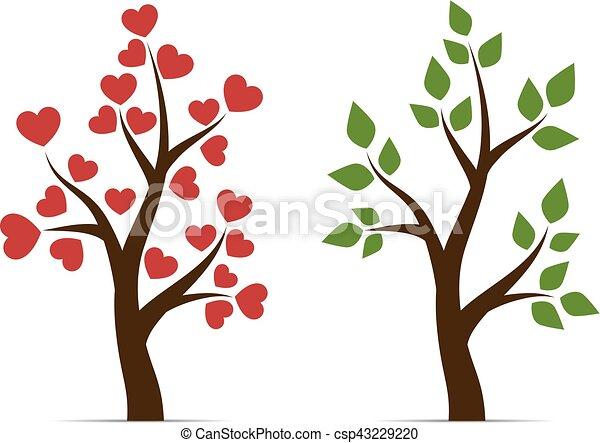 amour feuilles arbre coeur coeur amour feuilles illustration vectorielle rechercher. Black Bedroom Furniture Sets. Home Design Ideas