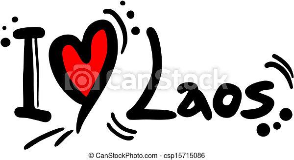 amour, laos - csp15715086