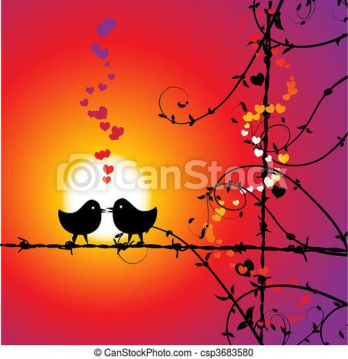 Amoureux des oiseaux datant du site