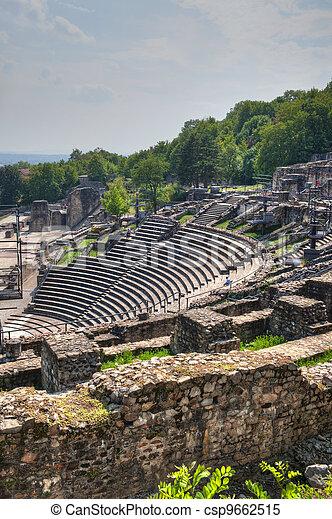 Amphitheater of the Three Gauls - csp9662515