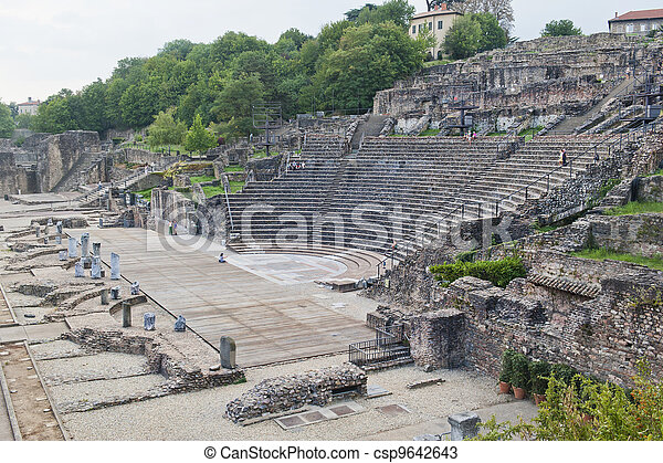 Amphitheater of the Three Gauls - csp9642643