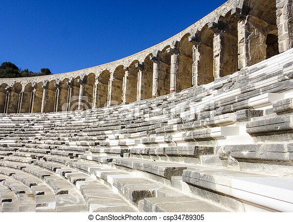 Amphitheatre in Asia - csp34789305