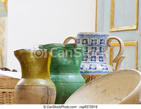Amphorae - csp8370819