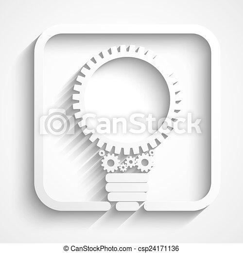 ampoule, créatif - csp24171136