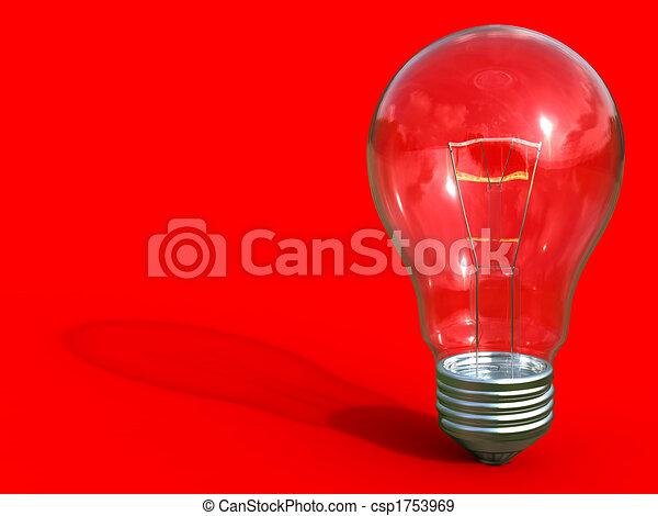 ampoule, lumière - csp1753969
