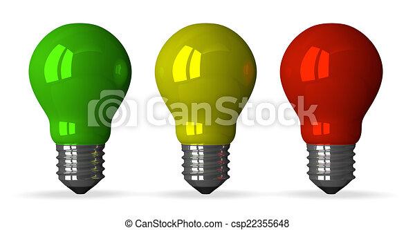 ampoules lumi re jaune tungst ne devant vert rouges dessin rechercher des. Black Bedroom Furniture Sets. Home Design Ideas