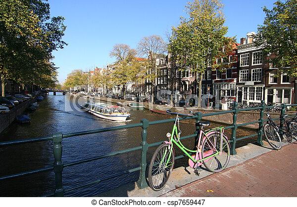 Amsterdam Fahrrad - csp7659447