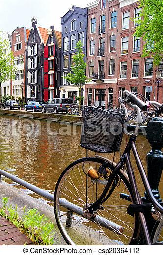 amsterdam, kanalen - csp20364112