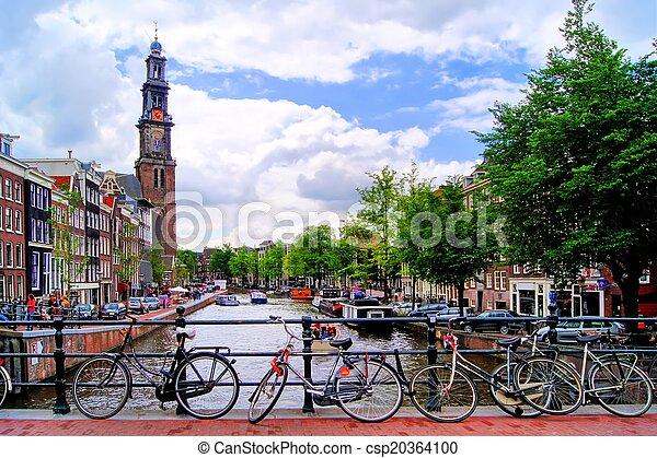 amsterdam, kanalen - csp20364100