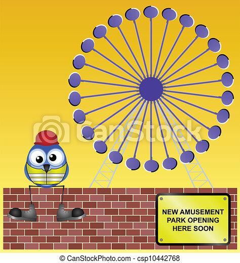 amusement park - csp10442768