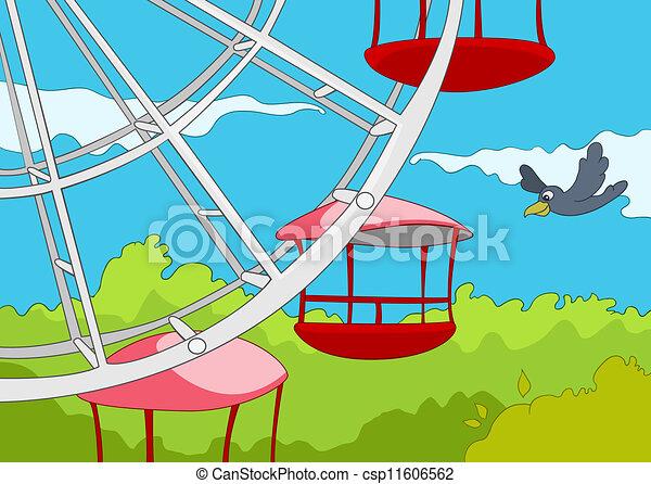 Amusement Park - csp11606562