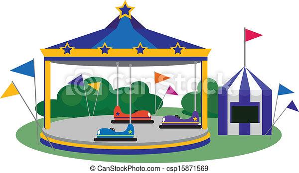 Amusement Park - csp15871569
