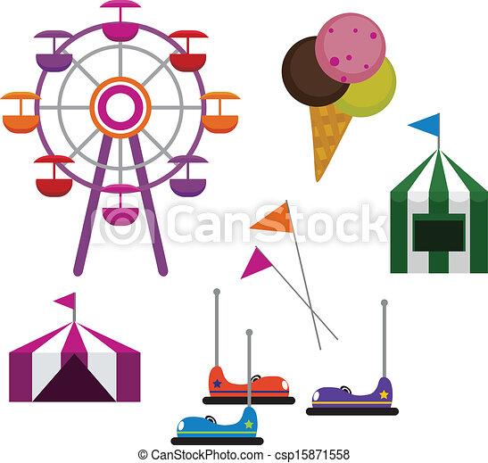 Amusement Park - csp15871558