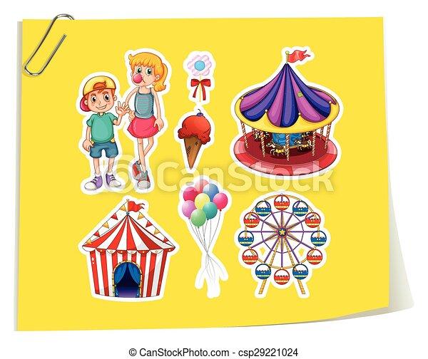 Amusement Park - csp29221024