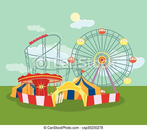 Amusement park - csp30230278