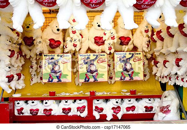 Amusement Park in south korea - csp17147065