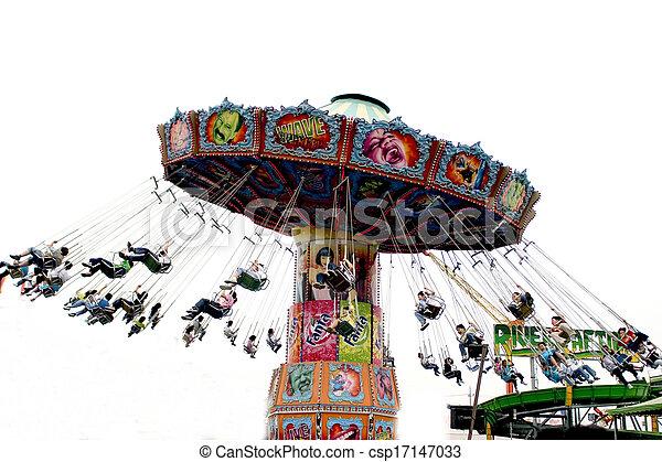 Amusement Park in south korea - csp17147033