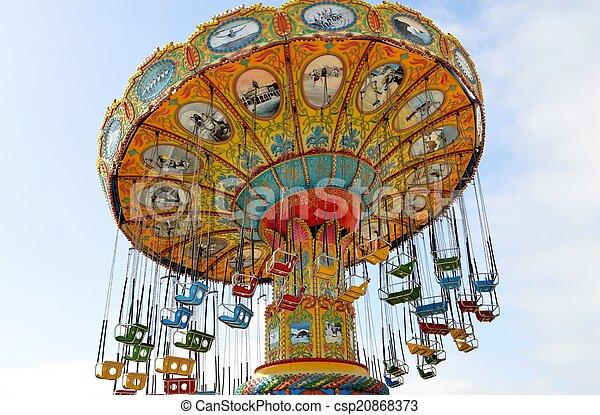 Amusement park ride - csp20868373