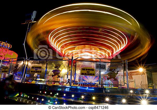 amusement park ride - csp8471246