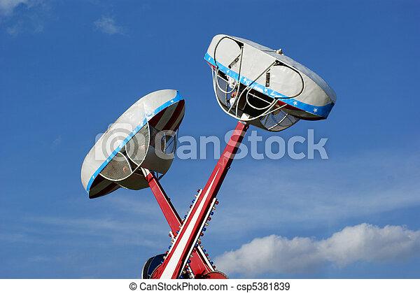 Amusement Park Ride - csp5381839