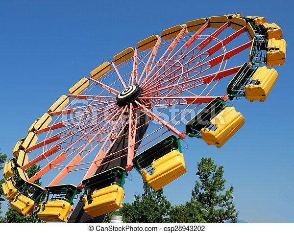 Amusement Park Ride - csp28943202