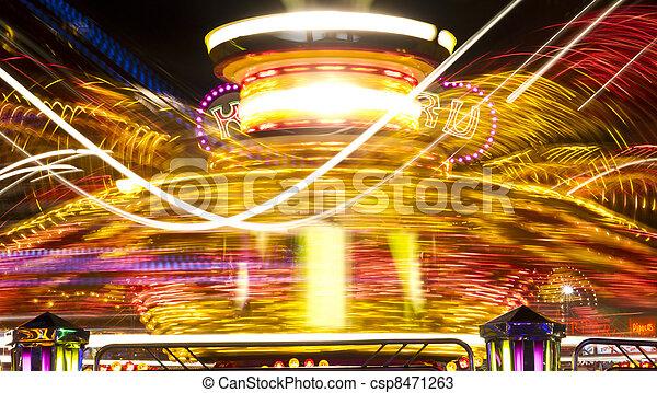 amusement park ride - csp8471263