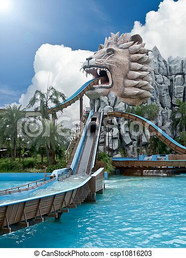amusement park - csp10816203