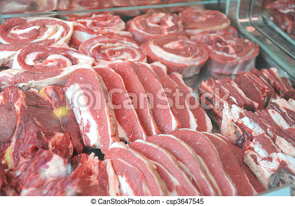 an a beautiful meat, healthy - csp3647545