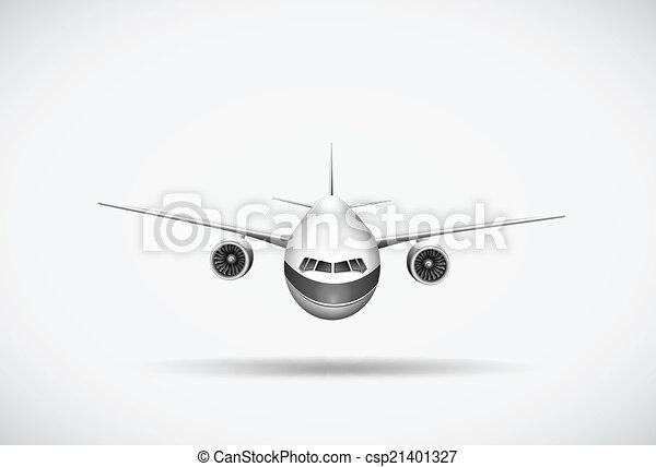 An aeroplane - csp21401327