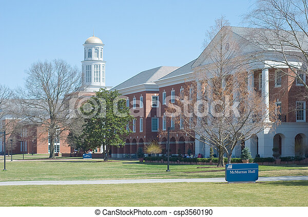 An American University - csp3560190
