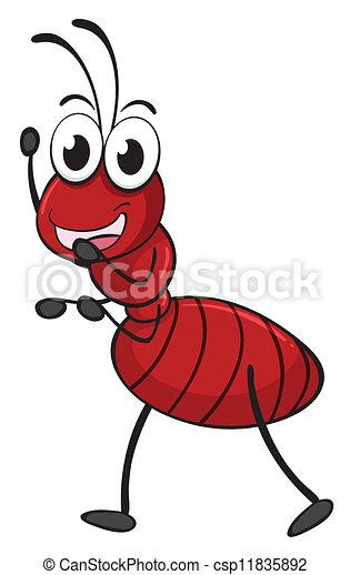 an ant - csp11835892