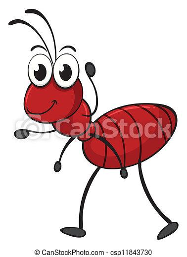 an ant - csp11843730