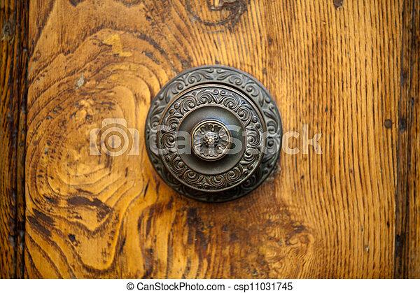 An Antique Door Knocker - csp11031745