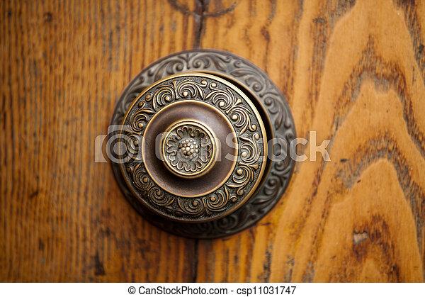 An Antique Door Knocker - csp11031747