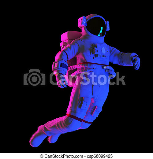 an astronaut - csp68099425