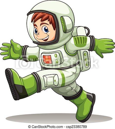 An astronaut - csp23380789