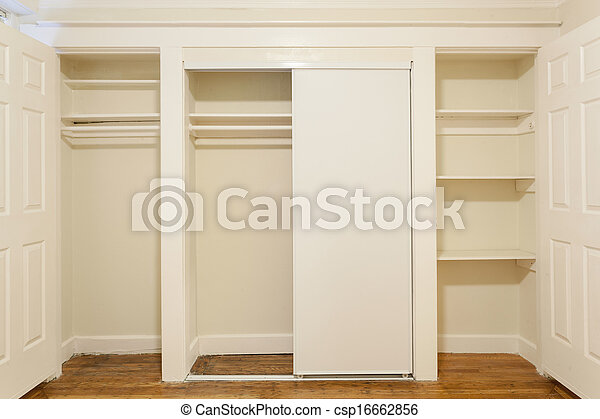 An empty closet in a studio apartment stock images Search Stock