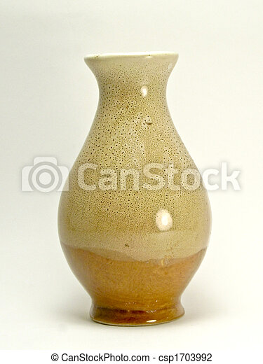 An Empty Vase Of Flower A Vase Of Flower Empty Over A Clear