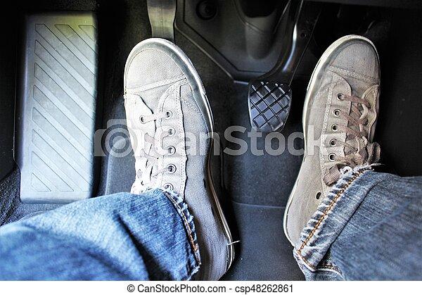 An image of a car pedal - csp48262861
