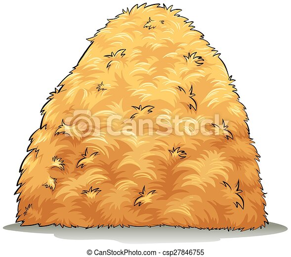 An image showing a haystack - csp27846755