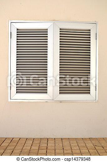 An industrial ventilation fan - csp14379348