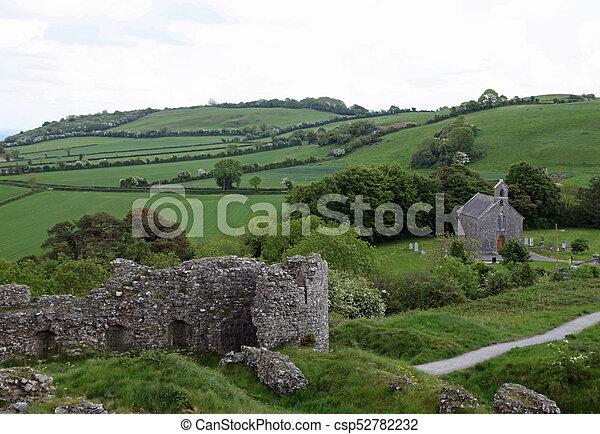An irish landscape - csp52782232