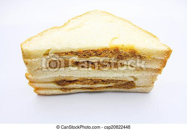 An isolated sandwish - csp20822448